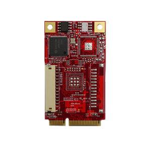 Mini PCI Express interface expansion card / GbE / LAN / industrial