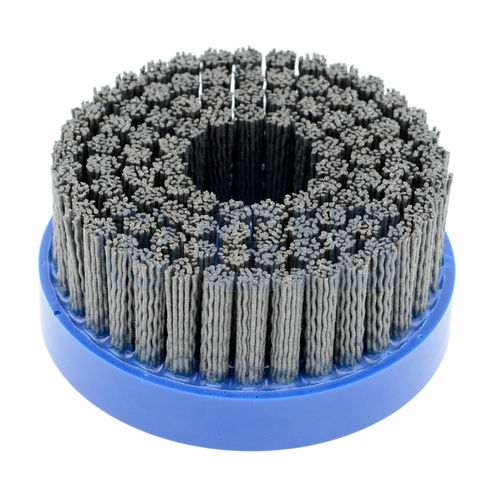 disc brush / finishing / deburring / polishing