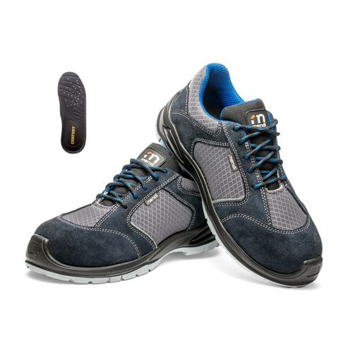 full-grain leather safety shoes