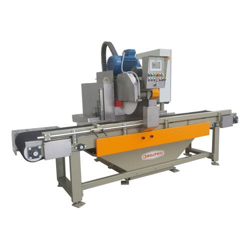 marble cutting machine / for granite / rotary blade / PLC-controlled