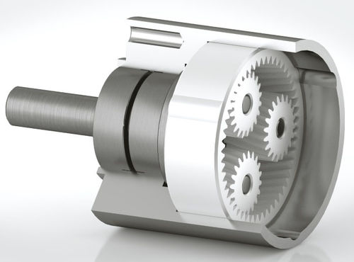 single-stage gearbox / epicyclic / coaxial / high-precision