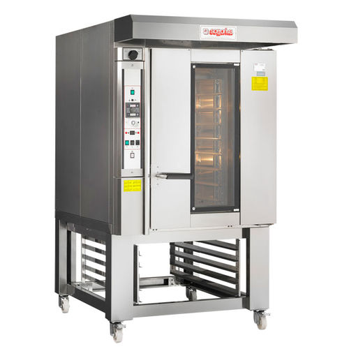 rotating rack bakery oven / electric