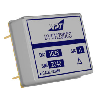 SMD DC/DC converter / low-power / military / for aircrafts
