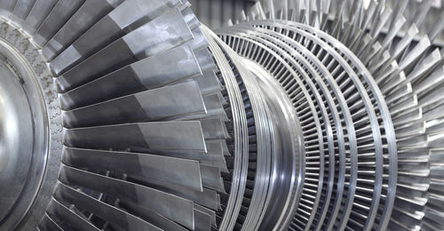 steam turbine / horizontal shaft / for power generation