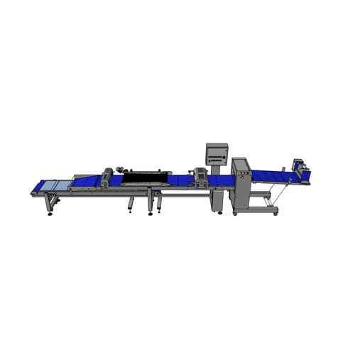 coated biscuit production line