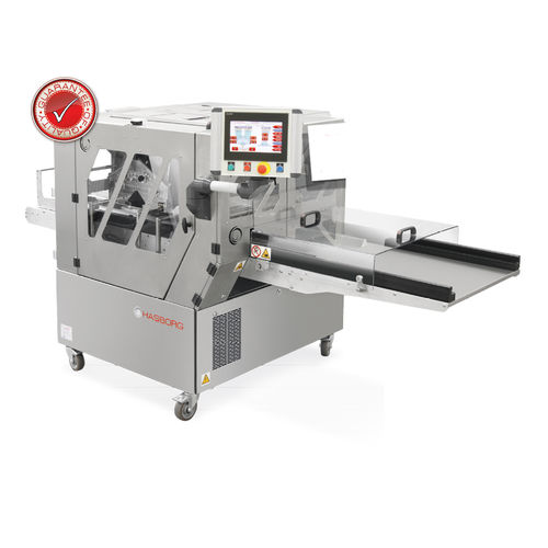 filled biscuit production line with dropping machine / with cutter