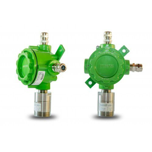 fixed detector / toxic gas / carbon monoxide / flammable gas
