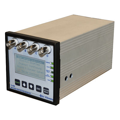 condition monitoring system / for machine protection / compact