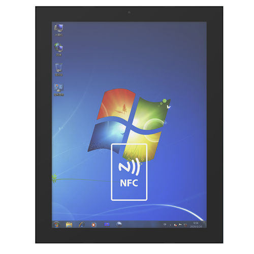 projected capacitive touchscreen monitor / TFT-LCD / 15