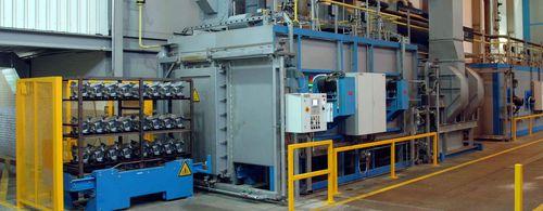 heat treatment furnace / conveyor / roller / continuous