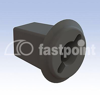 plastic cable grommet