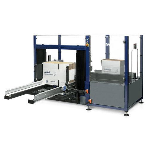 automatic case erector / adhesive tape / precise folding