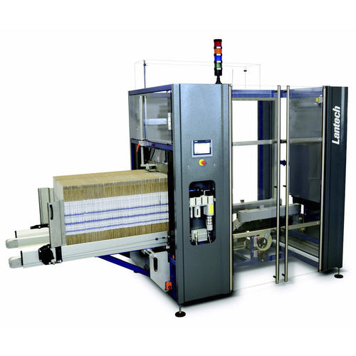 automatic case erector / adhesive tape / hot-melt glue / high-speed