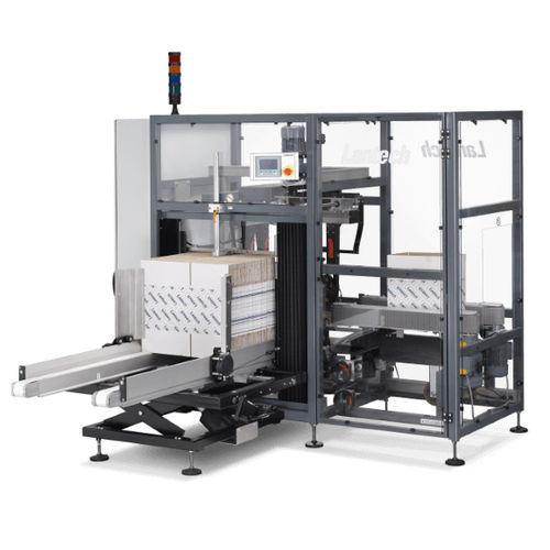 automatic case erector / adhesive tape / hot-melt glue