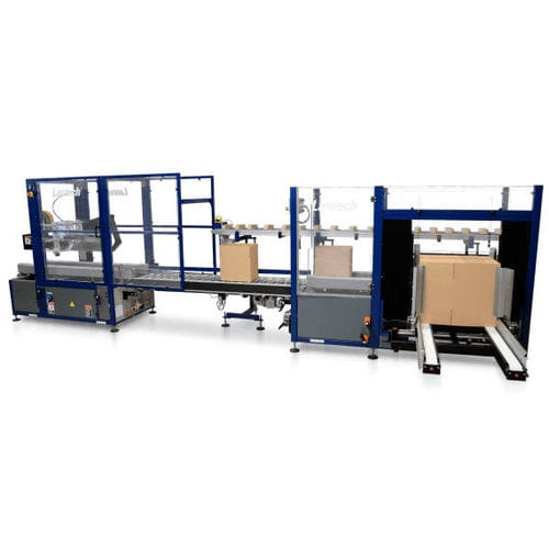 automatic case former-packer-sealer / adhesive tape