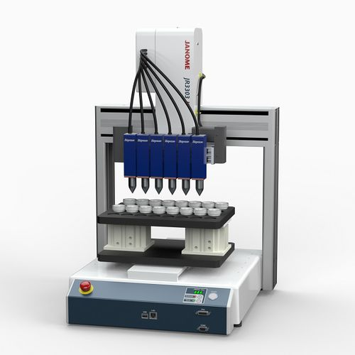 benchtop robot / Cartesian / 3-axis / plasma surface treatment