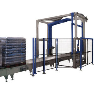 bag stretch wrapping machine / turntable / rotary arm / fully automatic
