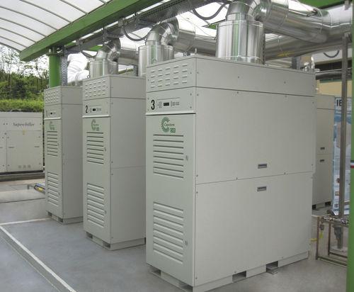 biogas cogeneration plant