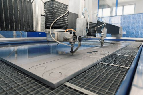 water-jet cutting