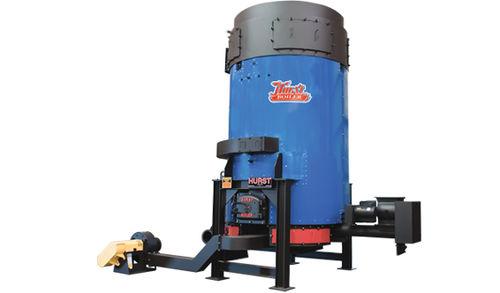 steam boiler / wood / vertical