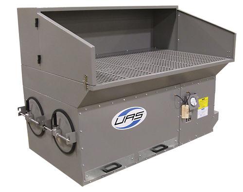 cartridge dust collector / pulse-jet backflow / heavy-duty / self-cleaning