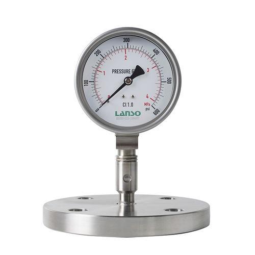 dual-scale pressure gauge