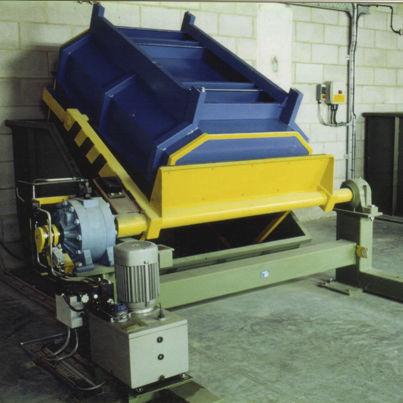 electro-hydraulic tilter