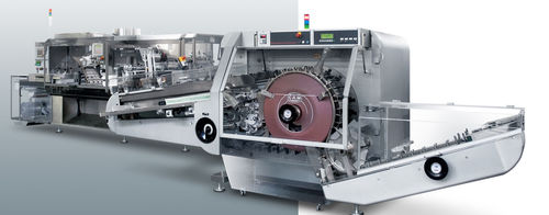 automatic packaging machine / blister / tablet / for chewing gum