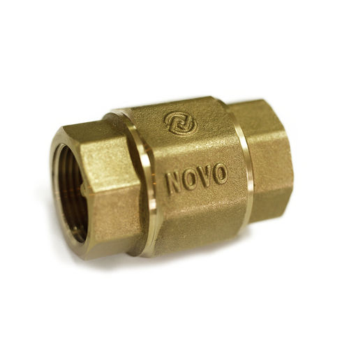spring check valve