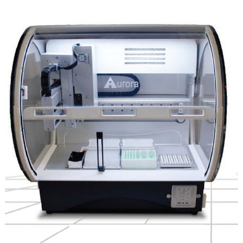 laboratory workstation / for sample preparation