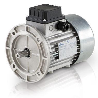 AC brake motor / three-phase / asynchronous / 6V