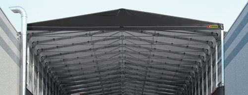 temporary roofing structure