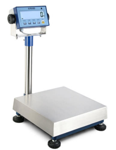 retail scale / with LCD display / stainless steel / waterproof