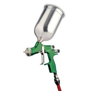 spraying gun / for paint / manual / gravity feed