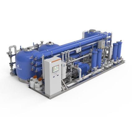 reverse osmosis water purification unit