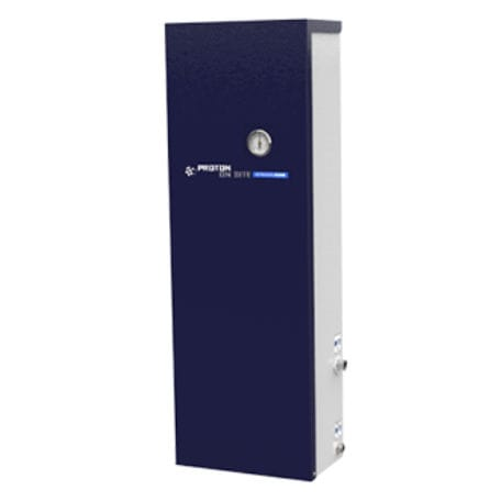 high-concentration inert gas generator / process