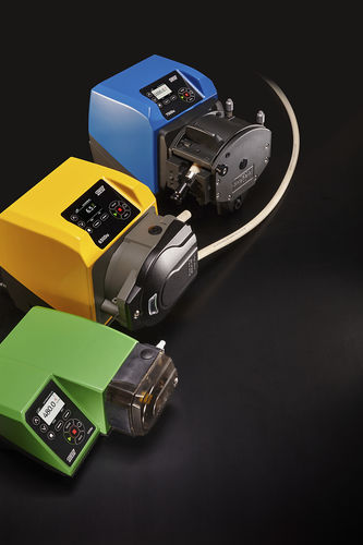 peristaltic pump / wastewater / for chemicals / electric