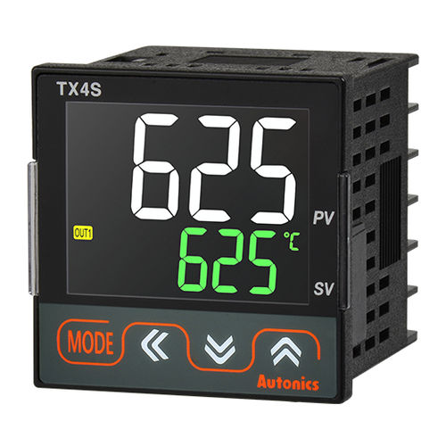 temperature controller with LCD display / PID / compact / RS-485