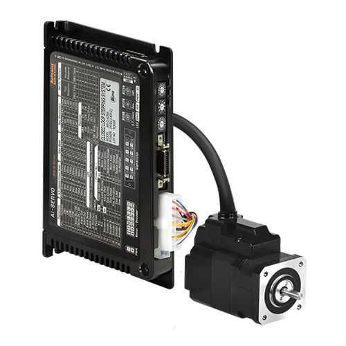 closed-loop motor / DC / two-phase stepper / 24V