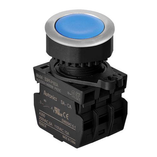mushroom push-button / flush-mounted / IP65