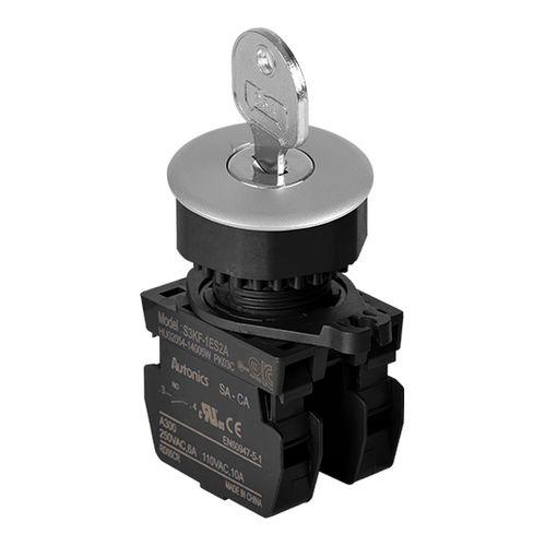 key lock switch / selector / round / IP65