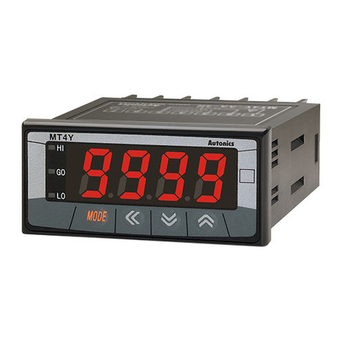 digital multimeter / panel-mount / 5 A / frequency
