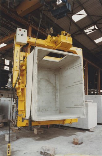 concrete slab vacuum lifting device / for heavy loads / high-speed