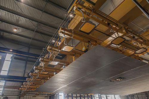 metal sheet vacuum lifting device