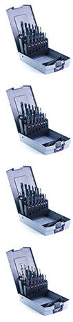 solid set of drill bits