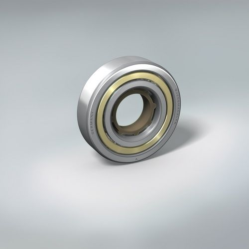 ball bearing / four-point contact / high-precision / with brass cage