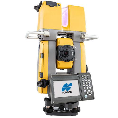 robotic total station / with 3D laser scanner