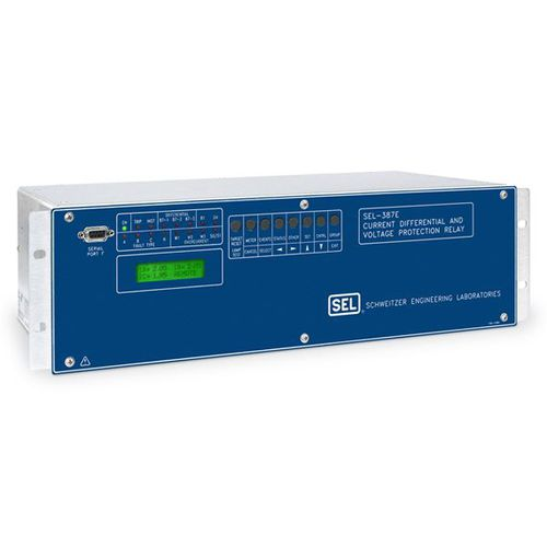over-current protection relay / voltage / over-frequency / under-frequency