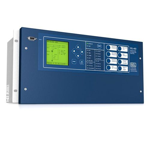 over-current protection relay / digital / programmable / configurable