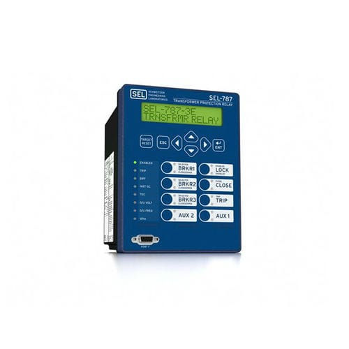 over-voltage protection relay / under-voltage / over-current / over-frequency